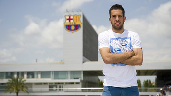 Jordi Alba in T-Shirt and Jeans