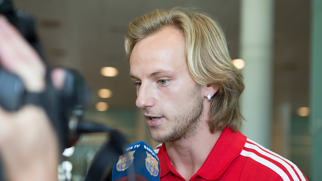 Rakitic / PHOTO: GERMÁN PARGA-FCB.