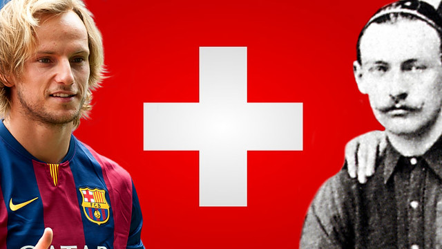 Barça and Swiss linksThe Club history is well know