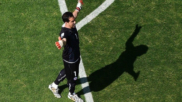 Chile captain Claudio Bravo is joining FC Barcelona from Real Sociedad / PHOTO: FIFA.COM