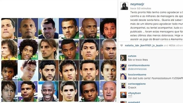 Neymar Jr / PHOTO: Instagram