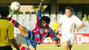 Pedro Rodríguez, playing for the U18's / PHOTO: Arxiu FCB