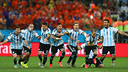 Argentina are through to the final. PHOTO: FIFA.COM