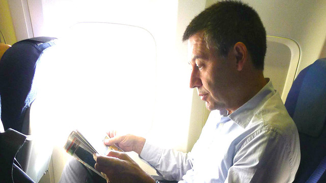 Bartomeu was speaking before his trip to Rio de Janeiro / PHOTO: FCB