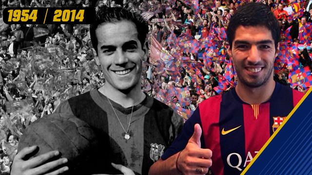 From Luis Suárez to Luis Suárez.