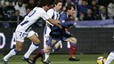 Messi was one of the goalscorers in Huelva in 2008. PHOTO: MIGUEL RUIZ - FCB