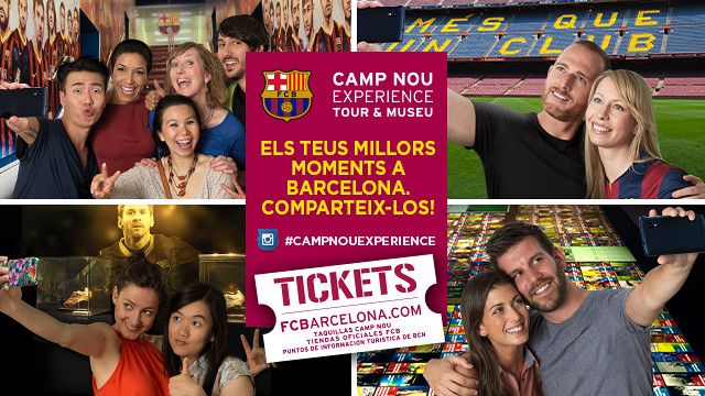 Selfies au Camp Nou Experience