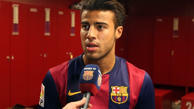 Rafinha Alcantára's press conference / PHOTO: MIGUEL RUIZ - FCB