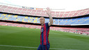 Jérémy Mathieu au Camp Nou / PHOTO: MIGUEL RUIZ - FCB
