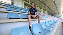 Luis Enrique, at the Ciutat Esportiva / PHOTO: MIGUEL RUIZ-FCB