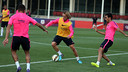 Barça continued training at St George's Park / PHOTO: MIGUEL RUIZ - FCB