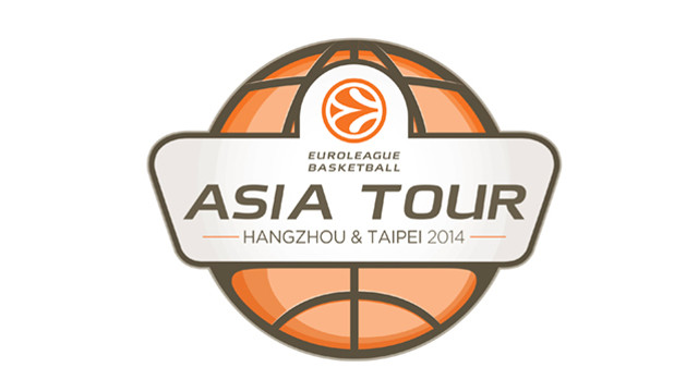 El logo de l'Euroleague Basketball Asian Tour