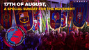 17th of August, a special Sunday for the movement