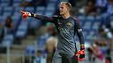 Ter Stegen on his Barça debut / PHOTO: MIGUEL RUIZ - FCB