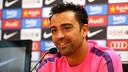 Xavi reckons Luis Enrique was key to his decsion/ PHOTO: MIGUEL RUIZ-FCB
