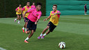 Neymar Jr ce matin / PHOTO: MIGUEL RUIZ - FCB