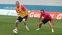 Jérémy Mathieu in training / PHOTO: MIGUEL RUIZ - FCB