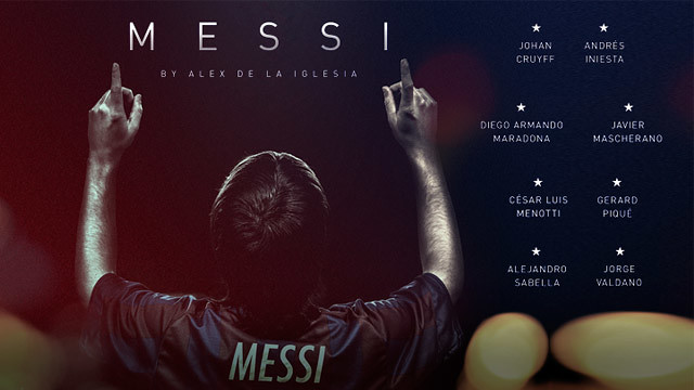 Poster of the film Messi