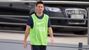 Leo Messi, à la Ciutat Esportiva / PHOTO: MIGUEL RUIZ-FCB