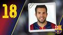 Potret Jordi Alba Ramos. Nomor punggung 18