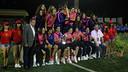 Las chicas de Xavi Llorens celebran la victoria del Torneig del COTIF / FOTO: COTIF