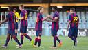 El Barça B inicia este sábado la temporada 2014/15 / FOTO: GERMÁN PARGA - FCB