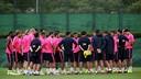 Barça before training / PHOTO: MIGUEL RUIZ - FCB