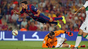 Marc Bartra featured in the league opener against Elche / PHOTO: MIGUEL RUIZ - FCB