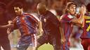Cruyff, Romário, Eto'o, Ibrahimović and Villa all scored on their Barça debuts