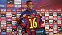 Douglas was speaking at a press conference on Friday evening. PHOTO: MIGUEL RUIZ/FCB