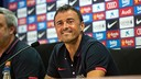 Luis Enrique was speaking at Saturday lunchtime / PHOTO: MIGUEL RUIZ - FCB
