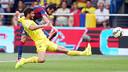Pedro et Musacchio. PHOTO: MIGUEL RUIZ-FCB.