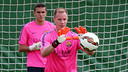 There was good news for Ter Stegen but bad news for Masip this morning / PHOTO: MIGUEL RUIZ - FCB
