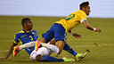 Neymar, contra l'Equador. FOTO: fifa.com