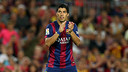 Luis Suárez was able to play in the Joan Gamper Trophy match / PHOTO: MIGUEL RUIZ-FCB