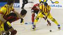 Reinaldo García, en el último partido disputado en Reus / FOTO: ARCHIVO FCB