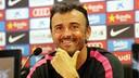 Luis Enrique, en roda de premsa / FOTO: ARXIU FCB