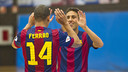Ferrao and Aicardo featured in an impressive away win / PHOTO: VÍCTOR SALGADO - FCB