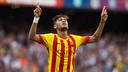 Doublé de Neymar Jr face à l'Athletic Club / PHOTO : GERMÁN PARGA-FCB