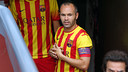 Andrés Iniesta captained Barça against Athletic / PHOTO: MIGUEL RUIZ - FCB