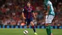 Sergi Roberto appeared in the Joan Gamper Trophy match. PHOTO: MIGUEL RUIZ-FCB.