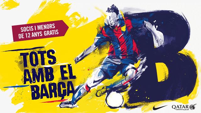 Entrées FC Barcelona B 2014-2015