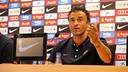 Luis Enrique, en conférence de presse / PHOTO: MIGUEL RUIZ -FCB