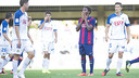 It was a frustrating afternoon for Dongou / PHOTO: VÍCTOR SALGADO - FCB