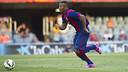 Adama, en un partido con el Barça B. FOTO: ARCHIVO - FCB