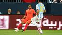 Douglas made his FC Barcelona debut against Malaga / PHOTO: MIGUEL RUIZ - FCB