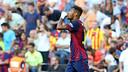 Neymar, après son premier but. PHOTO. MIGUEL RUIZ - FCB