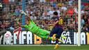 Messi scored twice to help bring down Granada / PHOTO: MIGUEL RUIZ - FCB