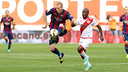 Mathieu was one of Barça's best players against Rayo / PHOTO: MIGUEL RUIZ - FCB