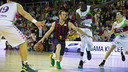 Huertas helped his team to victory at the Palau Blaugrana / VICTOR SALGADO-FCB